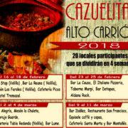 Primer Certamen de Cazuelitas del Alto Carrión